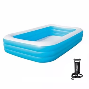 PILETA AZUL RECTANGULAR FAMILIAR 450 L – 54005